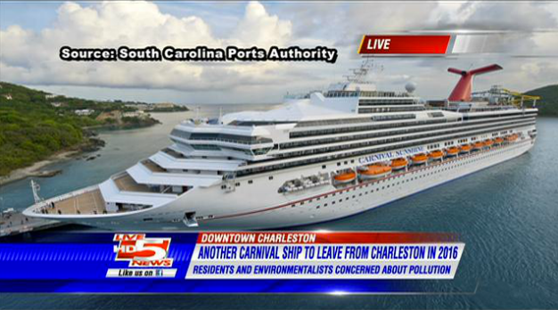 Live Carnival Sunshine To Depart From Charleston In - Cruise ships out of charleston south carolina