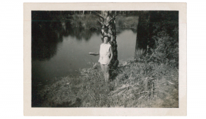 Harriet Williams during a summer at Seabrook Island