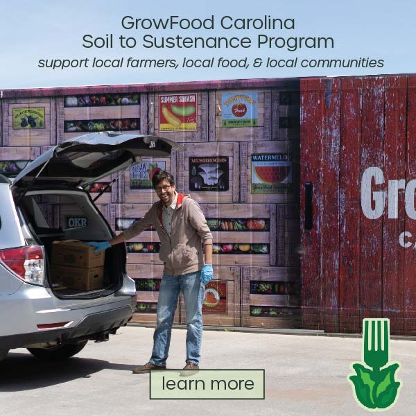 Learn more about GrowFood Carolina's Soil to Sustenance program